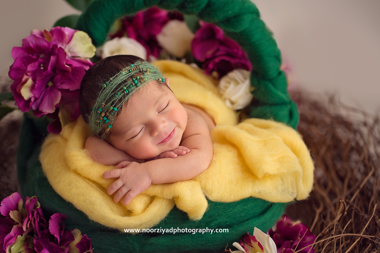middle east newborn photographer